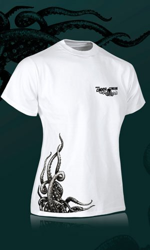 Camiseta de color blanco para chica Choose Cthulhu
