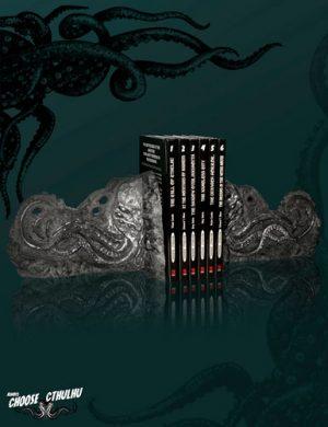 Sujeta libros exclusivo Choose Cthulhu